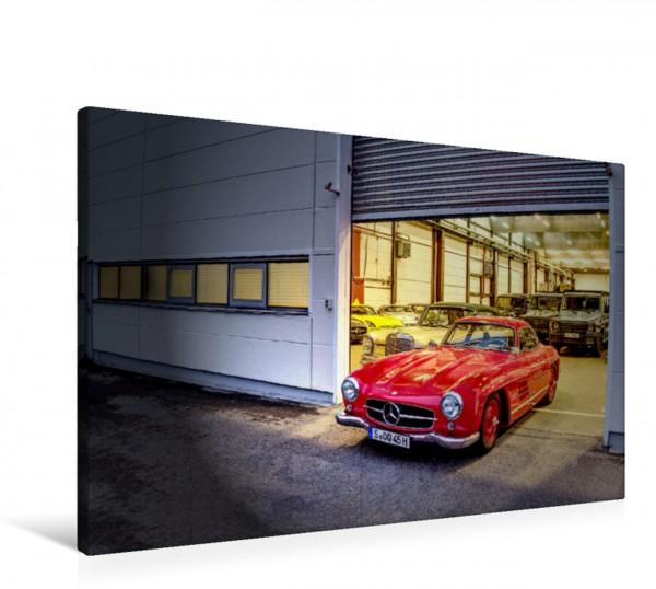 Wandbild Heilige Hallen 2021 - Die geheime Fahrzeugsammlung von Mercedes-Benz