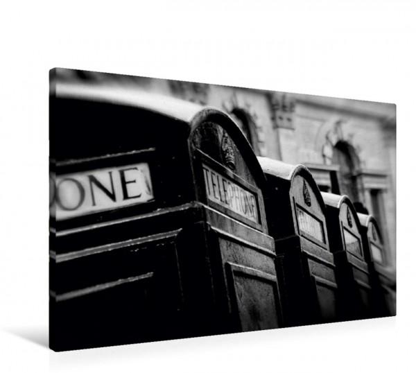 Wandbild Phone boxes