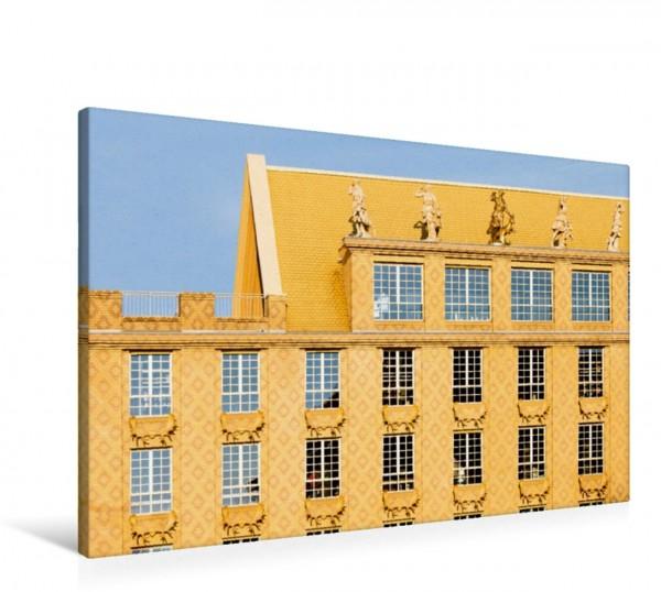 Wandbild Das Gelbe Haus
