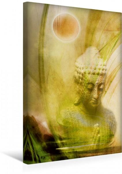 Wandbild Betender Buddha
