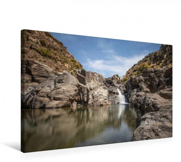 Wandbild Kleiner Wasserfall im Simien Nationalpark