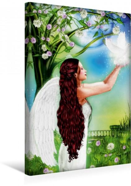 Wandbild Engel des Annehmens Eines der beliebten Kunstwerke von Dolphins DreamDesign Eines der beliebten Kunstwerke von Dolphins DreamDesign