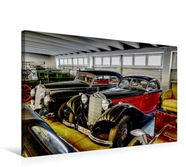 Wandbild Coupé-Schönheit: Der Typ 320 N in eleganter Zweifarben-Lackierung.