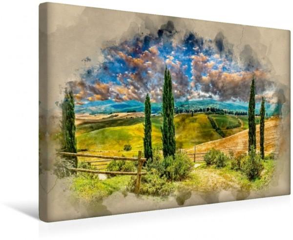 Wandbild Toskana Meine Liebe - Toskana von Peter Roder Meine Liebe - Toskana von Peter Roder