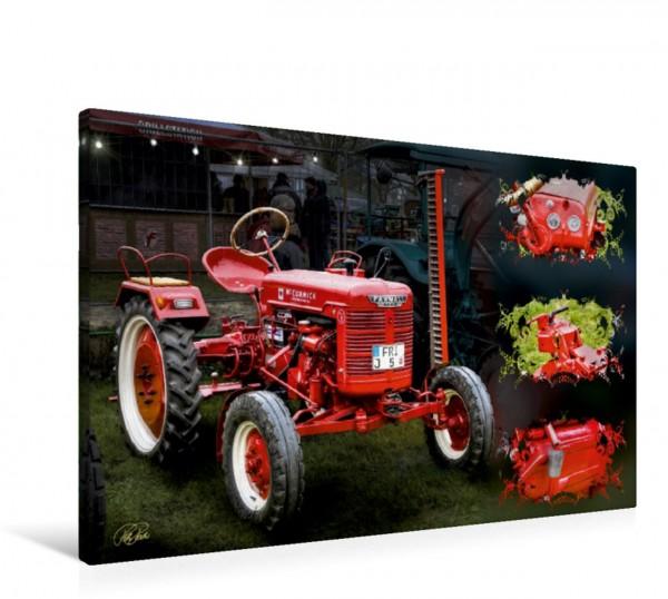 Wandbild Oldtimer Traktor McCormick Oldtimer - Traktoren von Peter Roder Oldtimer - Traktoren von Peter Roder