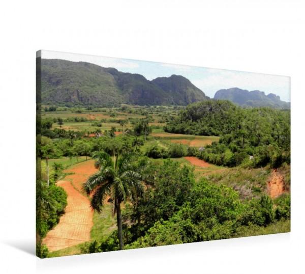 Wandbild Tal von Vinales auf Kuba