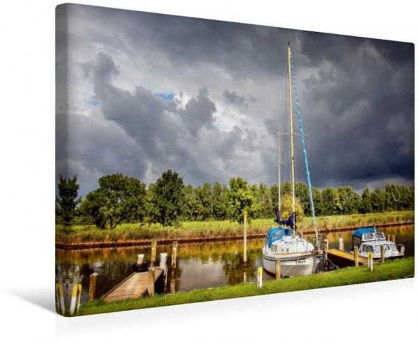 Wandbild Friesland - Vareler Hafen Friesland - am Vareler Hafen Friesland - am Vareler Hafen