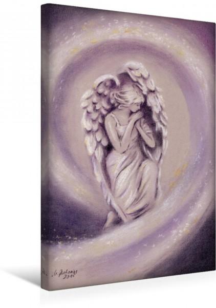 Wandbild Geburtstags- und Kunstwandbild mit bezaubernden Engelmotiven der Kunstmalerin Marita Zacharias