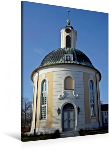 Wandbild Ehemalige Französisch-Reformierte Kirche in Schwedt Berlischky-Pavillon Berlischky-Pavillon