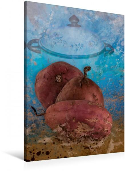 Wandbild kochKUNST - Süßkartoffel