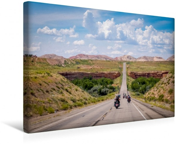 Wandbild Biker Paradies - Die Canyons der USA