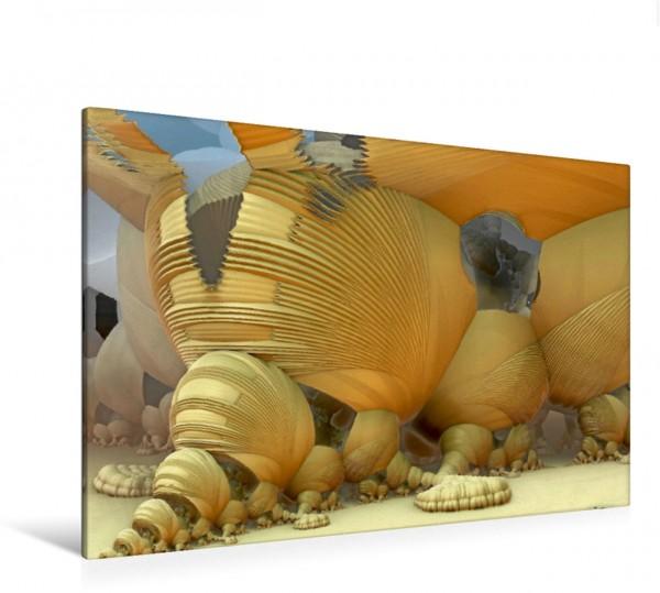 Wandbild Kokonwohnungen auf Zeta Draconis
