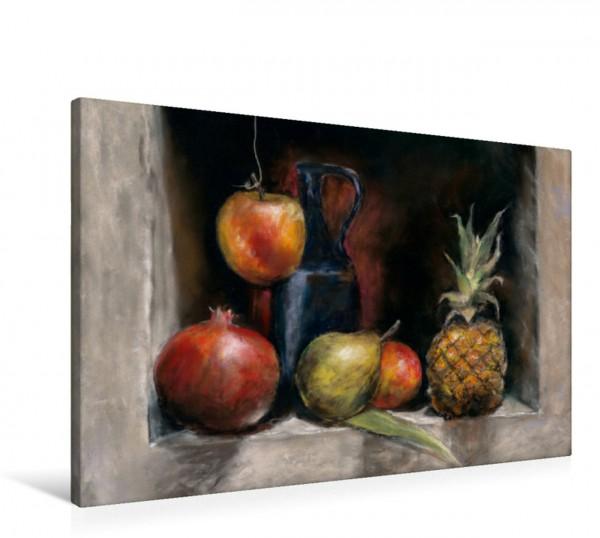 Wandbild Früchte in Pastell