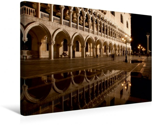 Wandbild Venedig bei Nacht