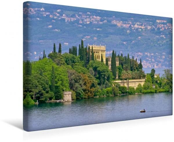 Wandbild Isola del Garda Gardasee Gardasee