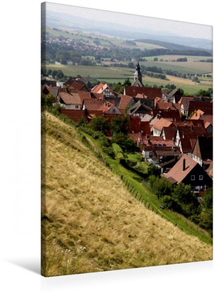 Wandbild Blick auf Schwalenberg