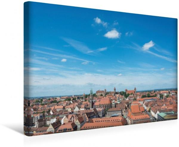 Wandbild Nürnberg - Eindrücke einer fränkischen Stadt