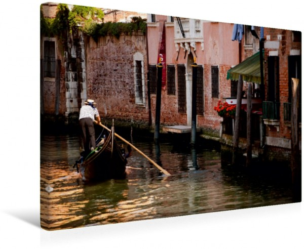 Wandbild Canale Venedig by André Poling