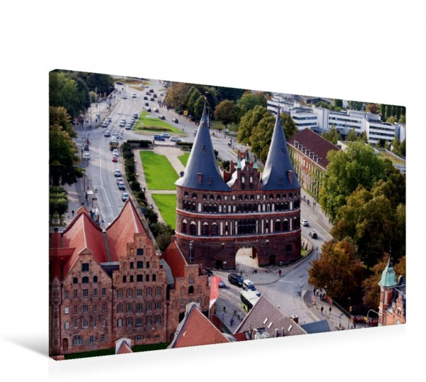 Wandbild Holstentorplatz Lübeck Lübeck