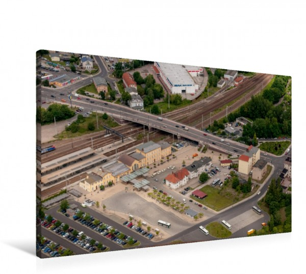 Wandbild Bahnhof