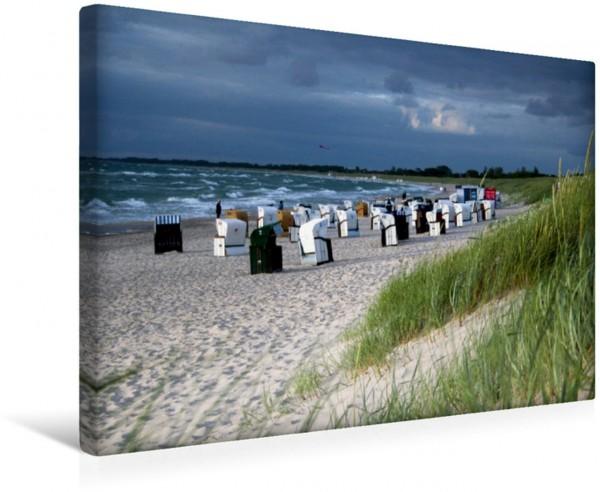 Wandbild Dierhagen-Strand