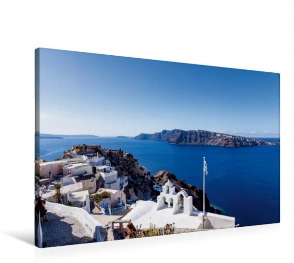 Wandbild Nordseite von Oia auf Santorin Santorin Insel der Schönheit Santorin Insel der Schönheit