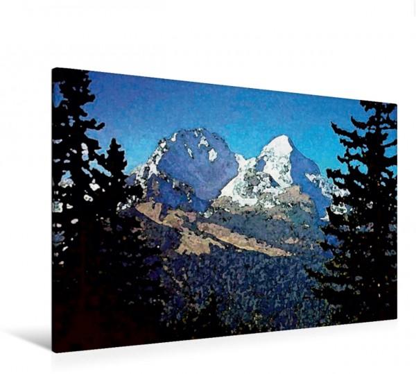 Wandbild Fernsicht - Impressionen aus den Alpen
