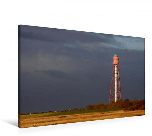 Wandbild Leuchtturm Campen in Ostfriesland Der Leuchtturm in Campen ist der höchste Leuchtturm Deutschlands und steht in der Krummhörn Ostfriesland Der Leuchtturm in Campen ist der höchste Leuchtturm