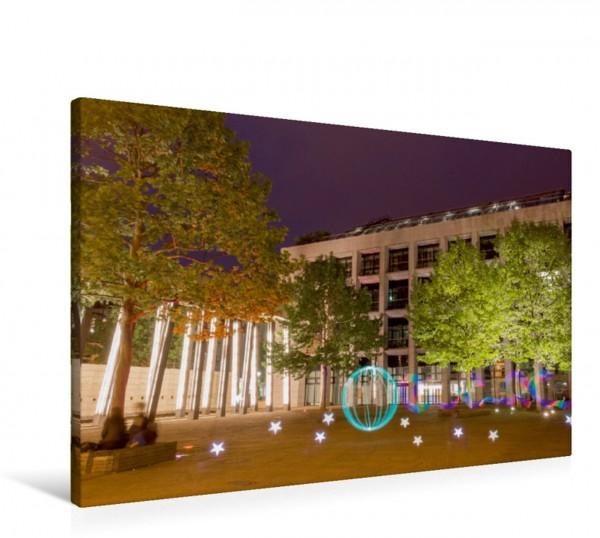Wandbild Vor der LVZ Leipzig