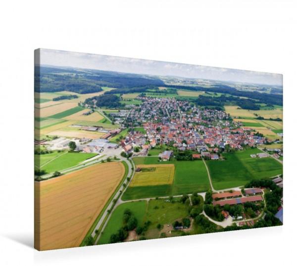 Wandbild Laichingen Ortsteil Feldstetten