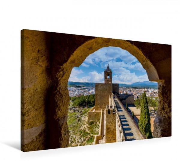 Wandbild Alcazaba, Antequera, Spanien