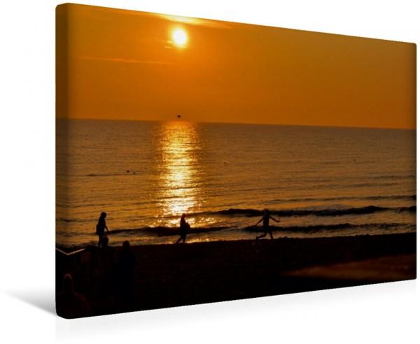 Wandbild Sonnenuntergang, Nordsee Wenningstedt Sylt Wenningstedt Sylt