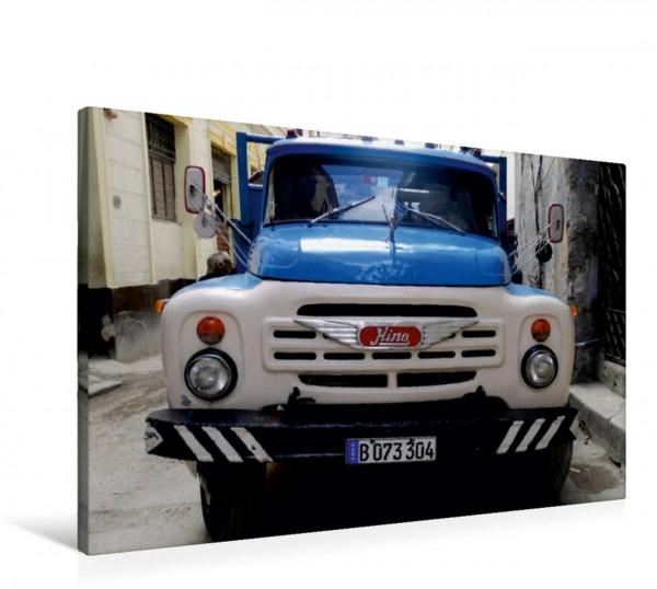 Wandbild  Sowjetische LKW auf Kuba