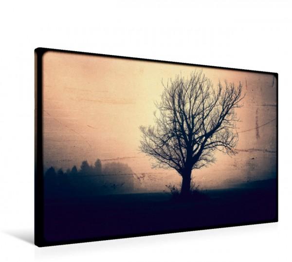Wandbild Fantasy mystische Landschaft Nacht Leinwandbild