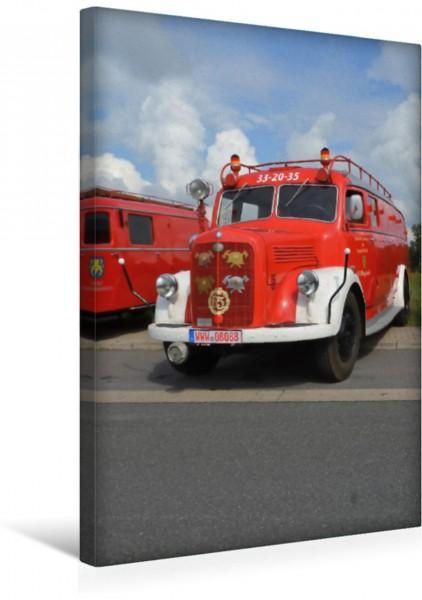 Wandbild Mercedes-LF-3500 42 - TLF 15