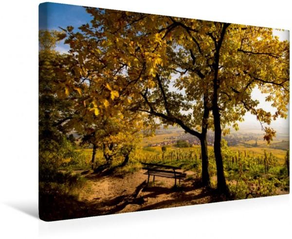 Wandbild Herbst in Dambach la Ville