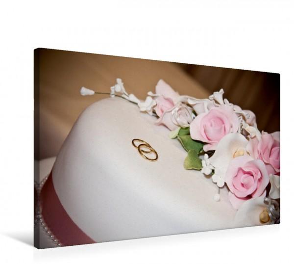 Wandbild Hochzeit. Für das junge Glück! Hochzeitstorte Hochzeitstorte
