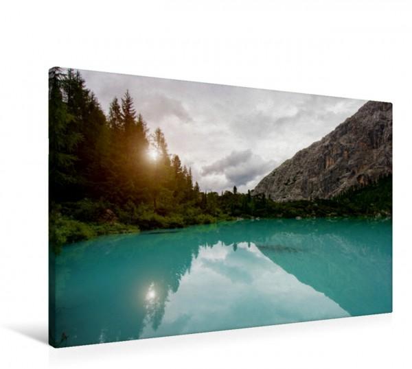 Wandbild Lago Sorapiss
