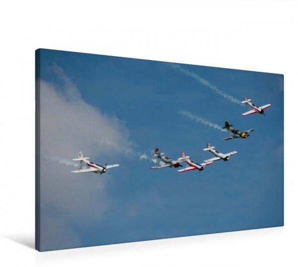 Wandbild Yakovlev Yak-50 Staffel