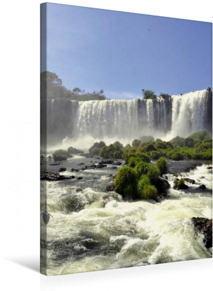 Wandbild Wasserfälle Südamerikas - Iguazu Wasserfälle