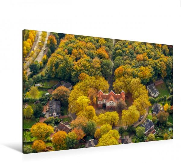 Wandbild Musikschule Gladbeck im Herbst
