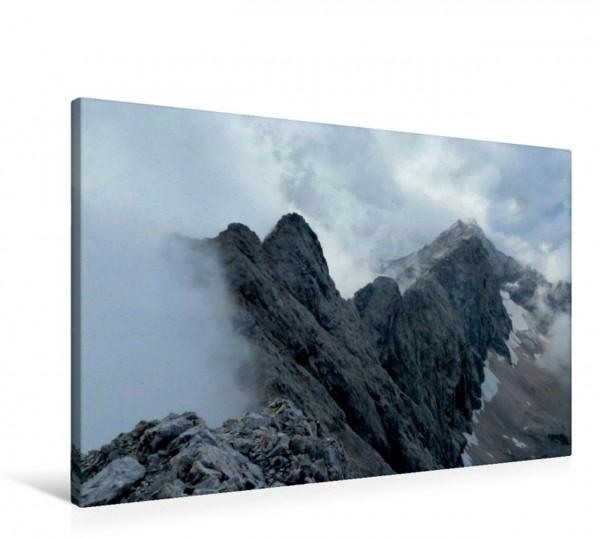 Wandbild Jubiläumsgrat Von der Alpspitze zur Zugspitze Von der Alpspitze zur Zugspitze