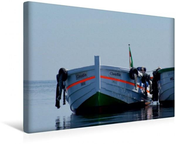 Wandbild Börteboote auf Helgoland Nordsee Küste Nordsee Küste