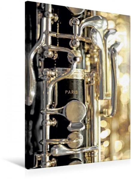 Wandbild Oboe englischen Stil