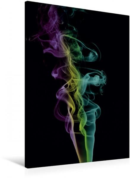 Wandbild Skulpturen aus Rauch