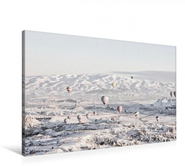 Wandbild Der Blick auf die Schneeberge