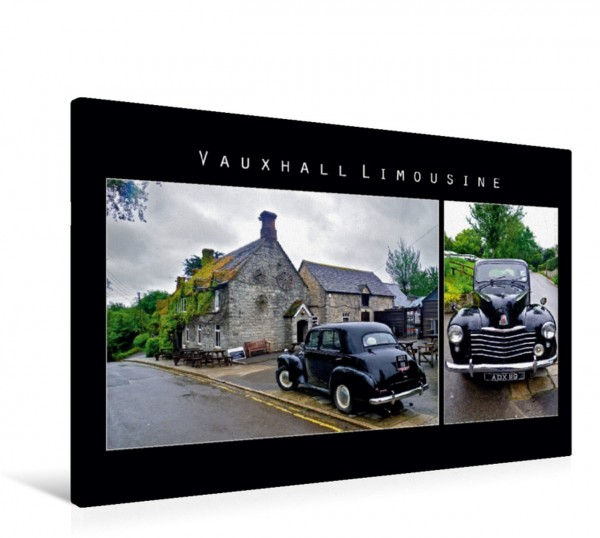 Wandbild Vauxhall Limousine, England Oldtimer Oldtimer