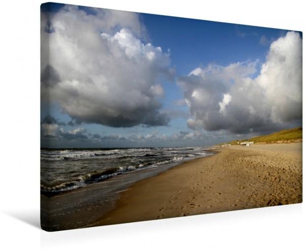 Wandbild Callantsoog Strand Strand