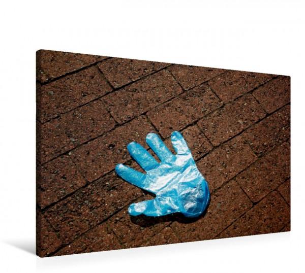 Wandbild Handschuhe - verloren - vergessen