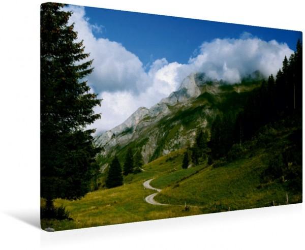Wandbild Alpen Region Schweiz Frankreich Leinwandbild